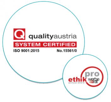 quality austria - ethik pro - Referenzen Himmelhoch - Text, PR, Event, PR-Agentur, Wien
