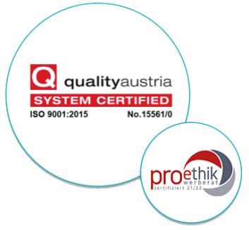 ISO2001_Zertifizierung2015_EthikPro_Siegel